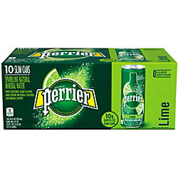 Perrier Sparkling Mineral Water Lime 845
