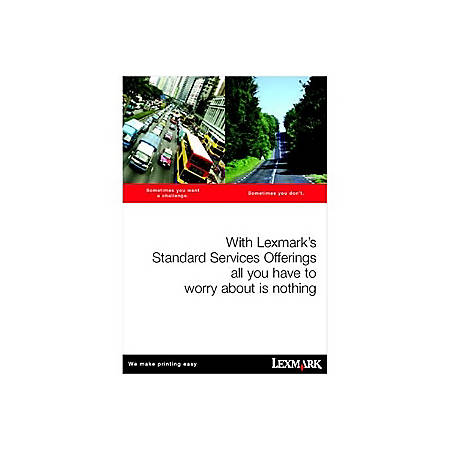 Lexmark LexOnSite Repair - 3 Year - Service - Next Business Day - On-site - Maintenance - Electronic and Physical Service
