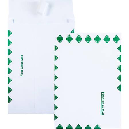 "Quality Park SHIP-lite 1st Class Expansion Envelopes, 10"" x 13"" x 1 1/2"", White, Pack Of 100"