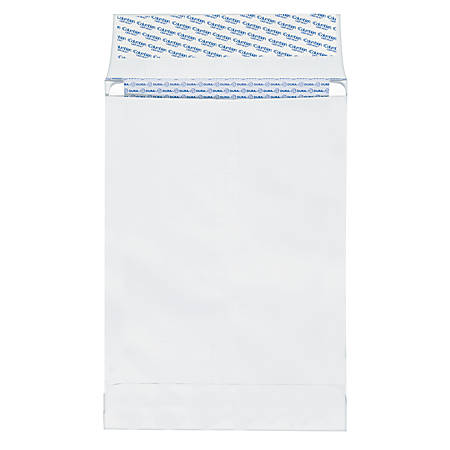 "Quality Park® Duralok® Expanding Security Mailers/Envelopes, 27 Lb., 12"" x 16"" x 2"", White, Box Of 100"