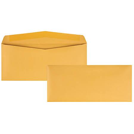 "Quality Park® Kraft Business Envelopes, #14, 5"" x 11 1/2"", Brown, Box Of 500"