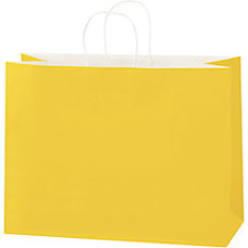 Partners Brand Buttercup Tinted Shopping Bags