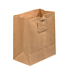 Partners Brand Flat Handle Grocery Bags