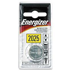 Energizer 2025 WatchCalc 3 Volt Battery