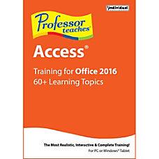Professor Teaches Access 2016 Download Version