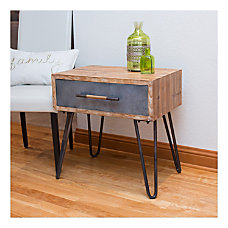 FirsTime Co Vaughn Hairpin Table Rectangular
