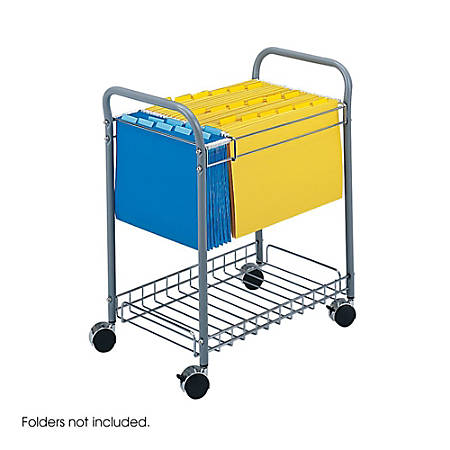 Safco 5225 Rolling Project File Cart