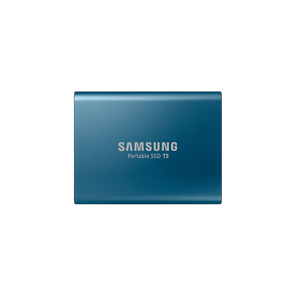 Samsung T5 500GB Portable External Solid State Drive, Blue