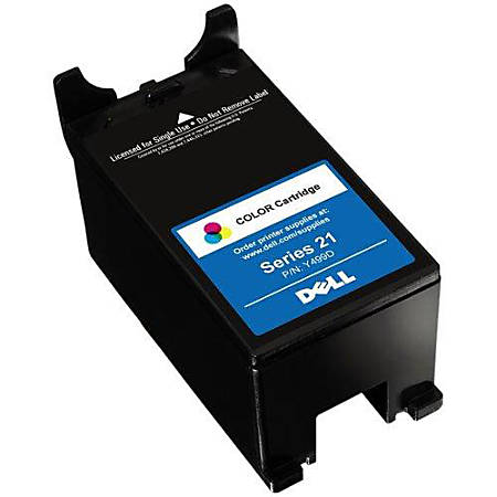 Dell™ Series 21 (U317R) Single-Use Color Ink Cartridge