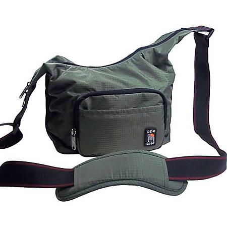 "Norazza Envoy Carrying Case (Messenger) Camera, Camera Flash, Lens, Accessories - Orange - Ripstop Nylon, Fabric - Shoulder Strap - 7"" Height x 10"" Width x 7"" Depth"