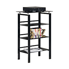 Realspace Lake Point 3 Shelf Bookcase