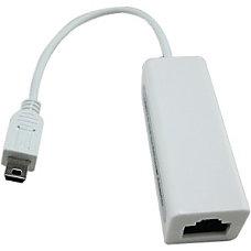 4XEM Mini USB to 10100Mbps Ethernet