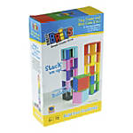 """Strictly Briks Tiny Tower Mini Cube Set, 6""""H x 9-1/2""""W x 2-1/4""""D, Assorted Colors, K - Grade 12"""