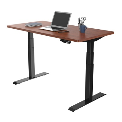 Loctek Electric Height Adjustable Stand Up Desk With Anti Collision
