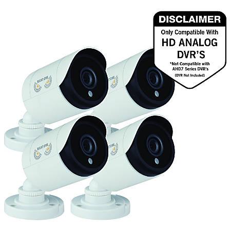 Night Owl CM-HDA10W-BU 2 Megapixel Surveillance Camera - 4 Pack - Color