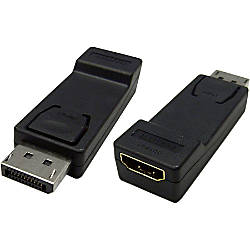 4XEM DisplayPort To HDMI Adapter