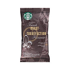 Starbucks French Roast Ground Coffee Packets