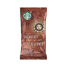 Starbucks Breakfast Blend Ground Coffee Single