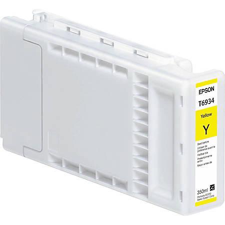 Epson T6934 - 350 ml - yellow - original - ink cartridge - for SureColor SC-T3000, SC-T3200, SC-T5000, SC-T5200, SC-T7000, SC-T7200, T3270, T5270, T7270