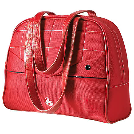 """SUMO Sumo Women's Laptop Purse - 13"""" Red - Purse - 12"""" to 13.3"""" Screen Support - Ballistic Nylon - Red"""