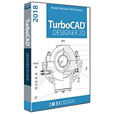 TurboCAD Designer 2018