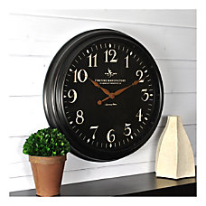 FirsTime Co Belmont Round Wall Clock