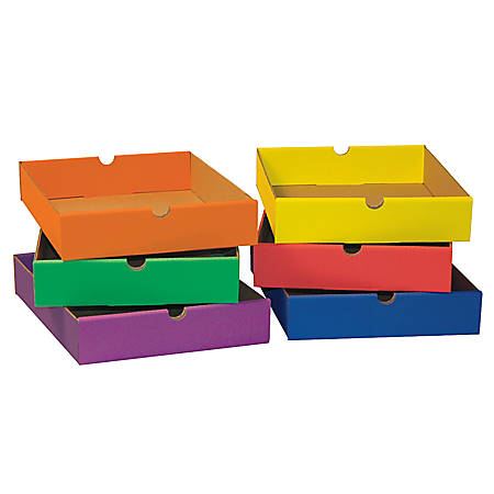 Pacon® Classroom Keepers, 6 Drawers, Assorted Colors