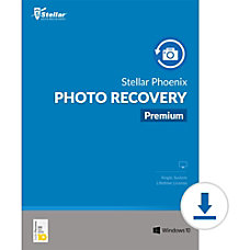 Stellar Phoenix Photo Recovery Premium Windows