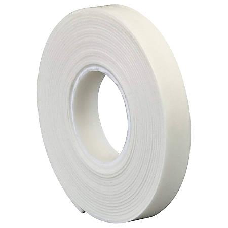 """3M® 4466 Double Sided Foam Tape, 1"""" x 5 Yd., White, 1/16"""""""