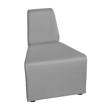 """Marco Outer Wedge Chair, 29.5""""H, Dove"""