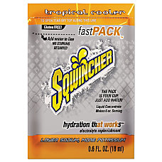 Sqwincher Fast Pack Electrolyte Replenishment Concentrate