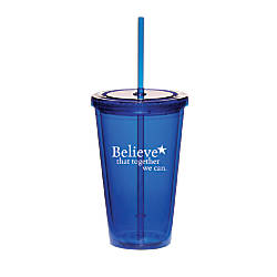 Believe Twist Top Tumbler Believe That