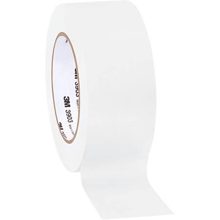 "3M™ 3903 Tartan™ Duct Tape, 3"" Core, 2"" x 50 Yd., White, Case Of 3"