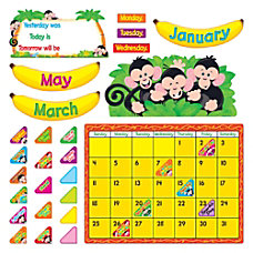TREND Monkey Mischief Calendar Bulletin Board