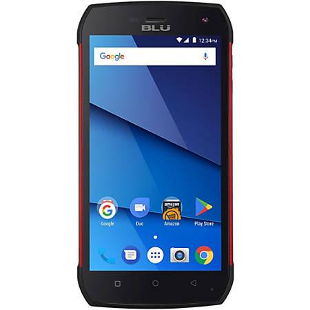 BLU Tank Xtreme Pro T0010UU Cell Phone, Red, PBN201269
