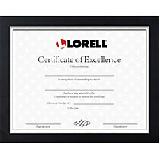 Lorell Certificate Frame 850 x 11