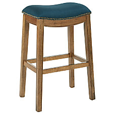 Ave Six Austin Barstool Klein AzureMochaAntique