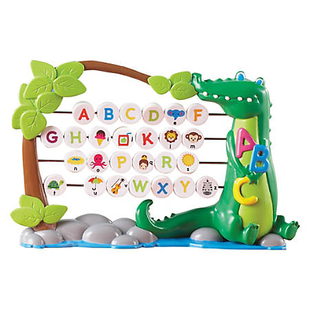 Learning Resources Alphagator Bead Abacus - Theme/Subject: Learning - Skill Learning: Letter Recognition, Phonic, Fine Motor, Exploration, Alphabet