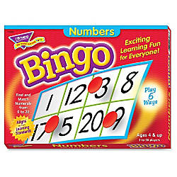 Trend Bingo Game Numbers
