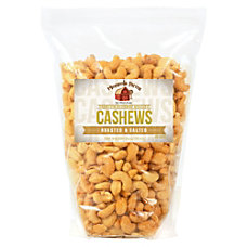 Office Snax Roasted Salted Cashews 32