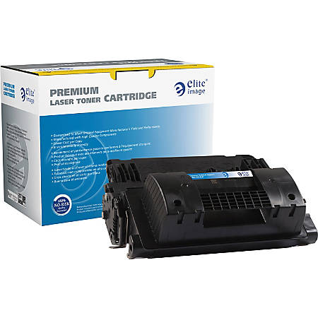 Elite Image Remanufactured Toner Cartridge - Alternative for HP 81X (CF281X) - Black - Laser - High Yield - 25000 Pages - 1 Each