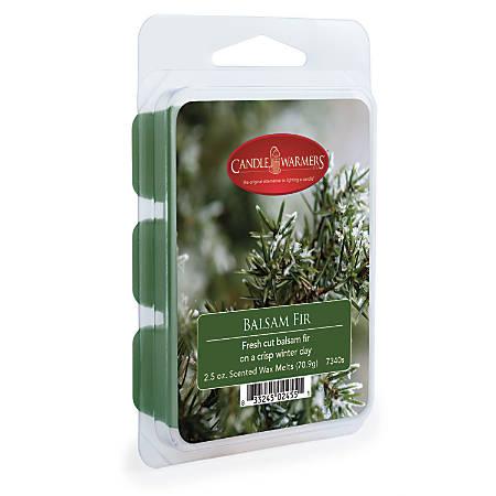 Candle Warmers Etc Wax Melts, Balsam Fir, 2.5 Oz, Case Of 4 Packs