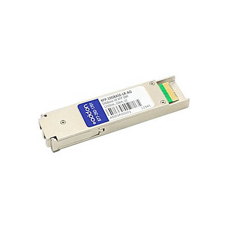 AddOn MSA and TAA Compliant 10GBase-LR XFP Transceiver (SMF, 1310nm, 10km, LC)