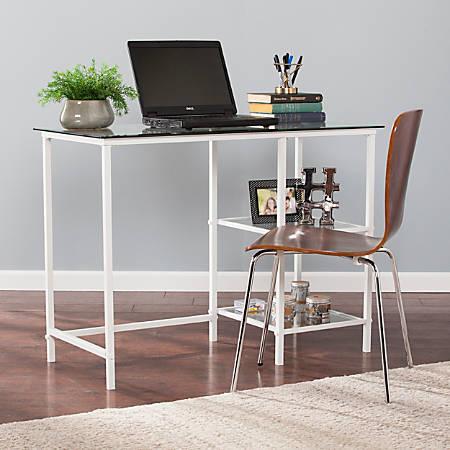 Southern Enterprises Layton Student Desk, White