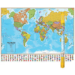 Round World Products Hemispheres Laminated World