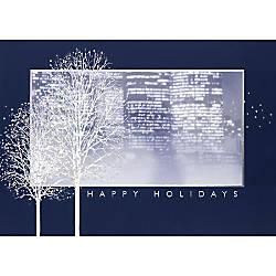 Personalized Holiday Cards Hazy Holidays 7