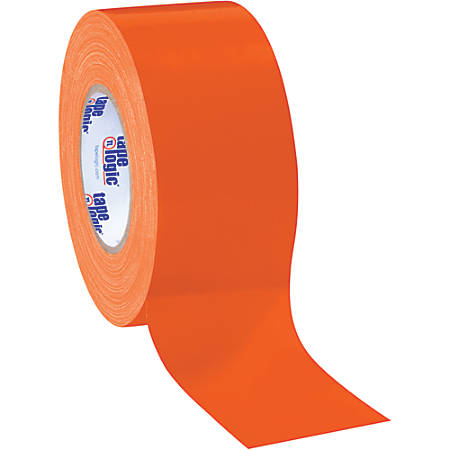 "Tape Logic® Color Duct Tape, 3"" Core, 3"" x 180', Orange, Case Of 3"