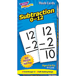 Trend Skill Drill Flash Cards Subtraction