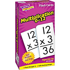 Trend Skill Drill Flash Cards Multiplication