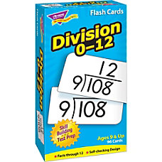 Trend Skill Drill Flash Cards Division